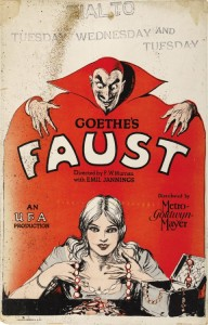 Affiche Faust